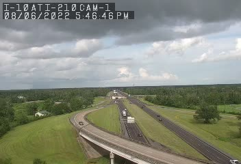 I-10 at I-210 in Lake Charles