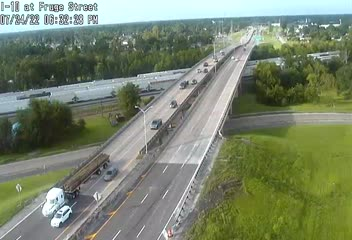I-10 at Fruge street in Lake Charles
