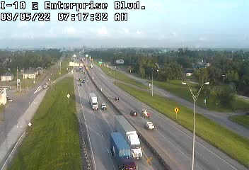 I-10 at Enterprise Blvd in Lake Charles