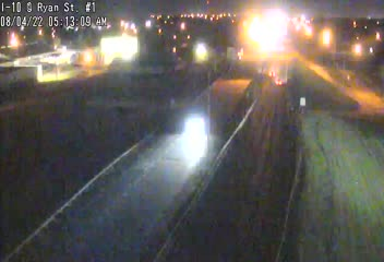 I-10 at Ryan Street in Lake Charles