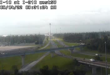 I-10 at I-210 in Westlake